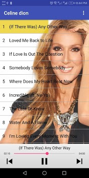 أغاني سيلين ديون - celine dion songs APK screenshot 1