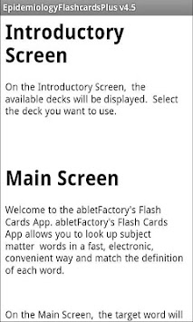 Epidemiology Flashcards APK : Download v4 5 for Android at AndroidCrew