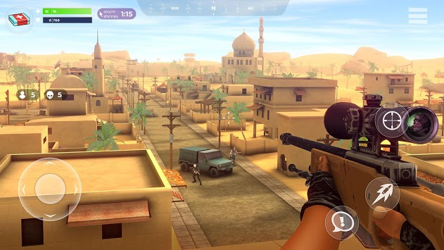 FightNight Battle Royale: FPS Shooter APK screenshot 1