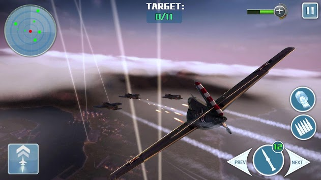 Call of Thunder War- Air Shooting Game APK screenshot 1