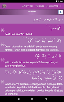 Surah Maryam Indonesian APK : Download v1 1 for Android at