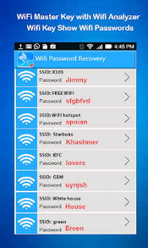 WiFi Analyzer for WiFI Master Key APK : Download v1 0 for Android at
