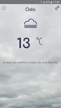 Grumpy Weather APK screenshot 2