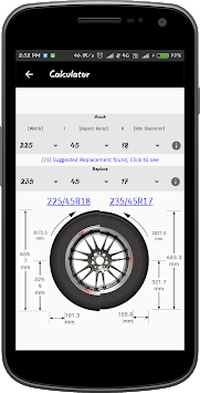 Tire Experts and Calculator APK screenshot 2