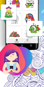 BATIQ 🎨 Color Therapy | Coloring book for Adults APK screenshot 3