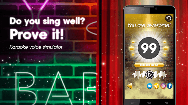 Karaoke voice sing & record APK : Download v6 1 for Android