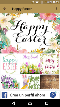 Happy Easter quotes and images APK screenshot 1