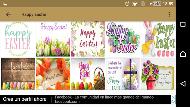 Happy Easter quotes and images APK screenshot 2
