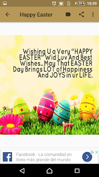 Happy Easter quotes and images APK screenshot 3