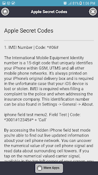 Android Hidden Secret Codes APK : Download v7 0 for Android at