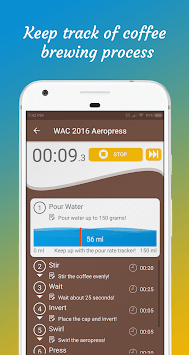 Brew Timer : Make Great Coffee APK screenshot 1