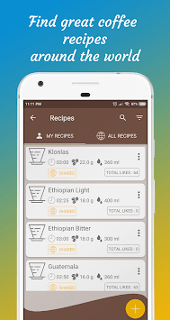Brew Timer : Make Great Coffee APK screenshot 2