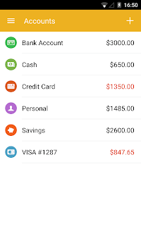 Checkbook - Account Tracker APK screenshot 1