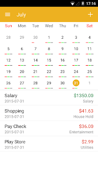 Checkbook - Account Tracker APK screenshot 3