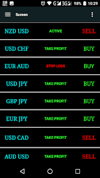 Forex Signals-Live Buy/sell APK screenshot 2