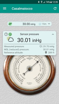 Accurate Barometer APK : Download v2 0 3 for Android at