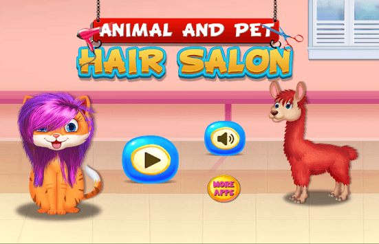 Animal and Pet Hair Salon APK screenshot 1
