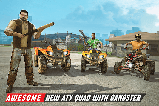 Gangster City Grand ATV Bike Crime - Quad Driving APK screenshot 2