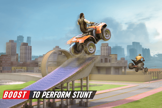 Gangster City Grand ATV Bike Crime - Quad Driving APK screenshot 3