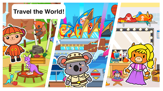 Main Street Pets Big Vacation - Big Pets Holiday! APK screenshot 3