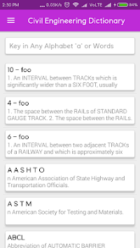 Civil Engineering Dictionary APK : Download v1 5 for Android