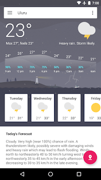 Aus Weather Australia APK screenshot 2