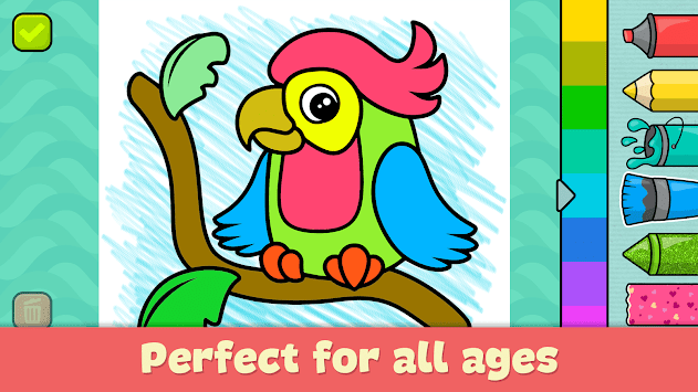 Coloring Games For Kids For PC - Download And Run On PC Or MAC