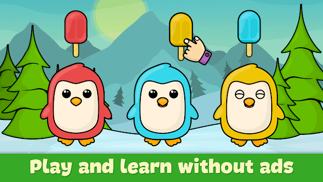 Learning games for toddlers age 3 APK screenshot 2