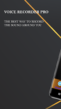 Voice Recorder Pro - Audio recorder APK screenshot 1