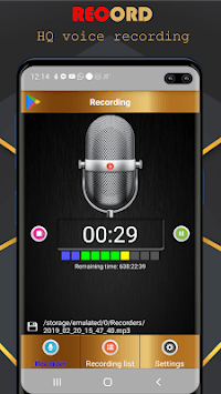 Voice Recorder Pro - Audio recorder APK screenshot 3