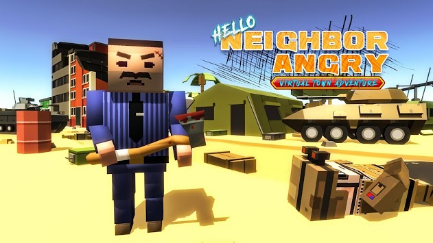 Neighbor Angry - Virtual Town Adventure APK : Download v1