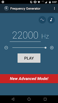 Frequency Sound Generator APK screenshot 2