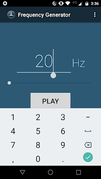 Frequency Sound Generator APK screenshot 3