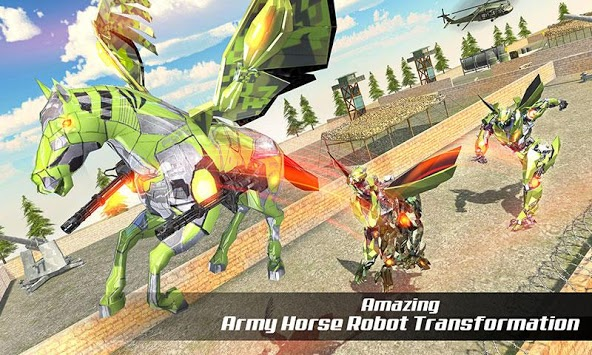 US Army Robot Car Transform: Future Robot Wars APK screenshot 2