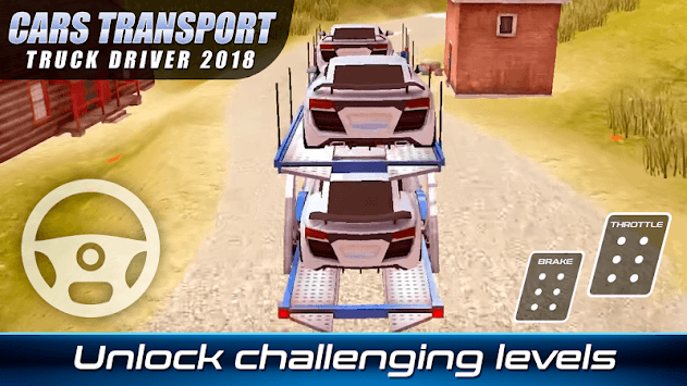 Cars Transport Truck Driver 2018 APK screenshot 1