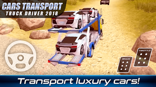 Cars Transport Truck Driver 2018 APK screenshot 2