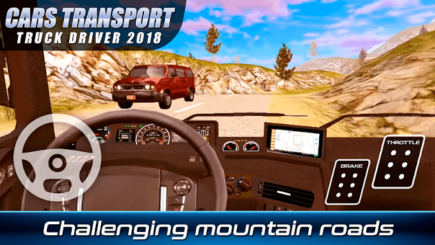Cars Transport Truck Driver 2018 APK screenshot 3