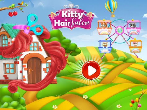 Pet Kitty Hair Salon Hairstyle Makeover APK screenshot 1