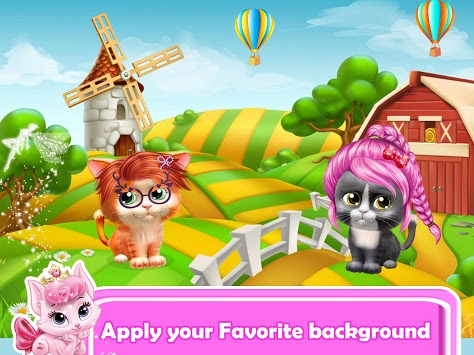 Pet Kitty Hair Salon Hairstyle Makeover APK screenshot 2
