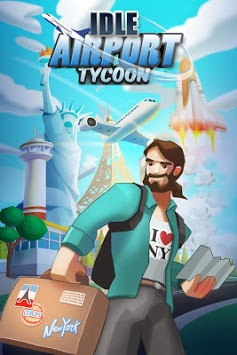 Idle Airport Tycoon - Tourism Empire APK screenshot 1