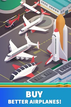 Idle Airport Tycoon - Tourism Empire APK screenshot 3