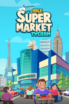 Idle Supermarket Tycoon - Tiny Shop Game APK screenshot 1