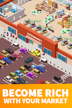 Idle Supermarket Tycoon - Tiny Shop Game APK screenshot 2