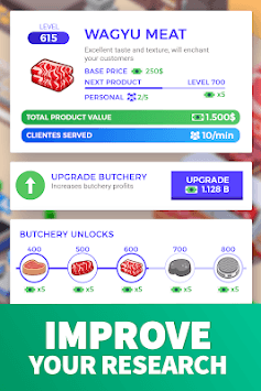 Idle Supermarket Tycoon - Tiny Shop Game APK screenshot 3
