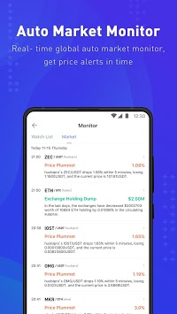 Coinness - Real-time crypto market index and news APK screenshot 1