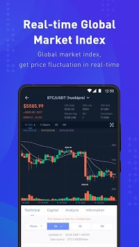 Coinness - Real-time crypto market index and news APK screenshot 3