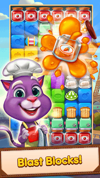 Blaster Chef: Culinary match & collapse puzzles APK screenshot 2