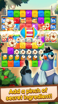 Blaster Chef: Culinary match & collapse puzzles APK screenshot 3
