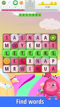 Letters Blast - Explosive Word Search Puzzle Fun APK screenshot 1