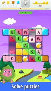 Letters Blast - Explosive Word Search Puzzle Fun APK screenshot 2